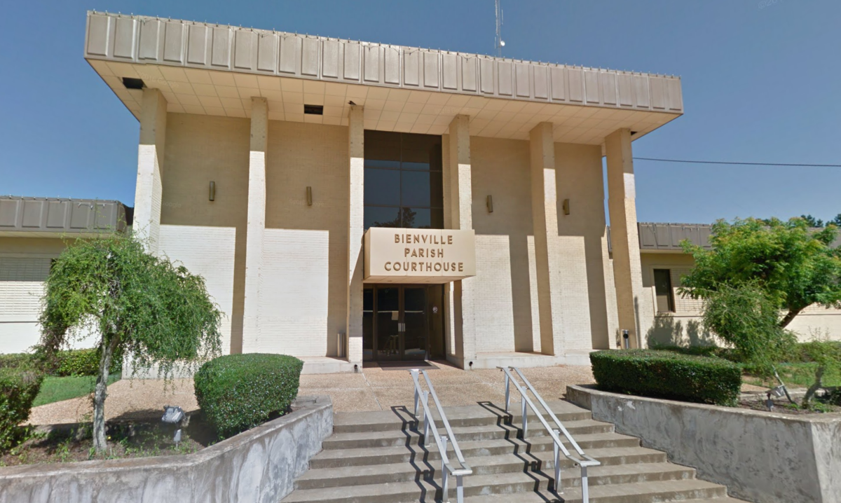 bienville parish courthouse in arcadia, louisiana